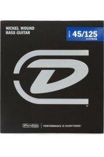 Dunlop DBN45125 Nickel Plated Steel Medium 5-String Bass Strings