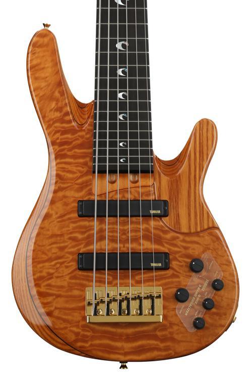 Yamaha john patitucci amber sweetwater for Yamaha 6 string bass