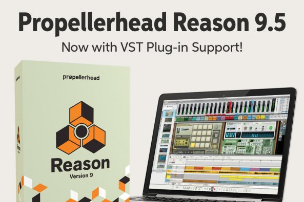 Propellerhead Reason 9.5 Now with VST Plug-in Support! 2 Prepellerhead