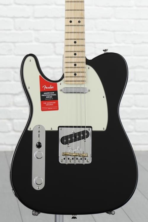 Fender American Professional Telecaster Left-handed - Black with Maple Fingerboard