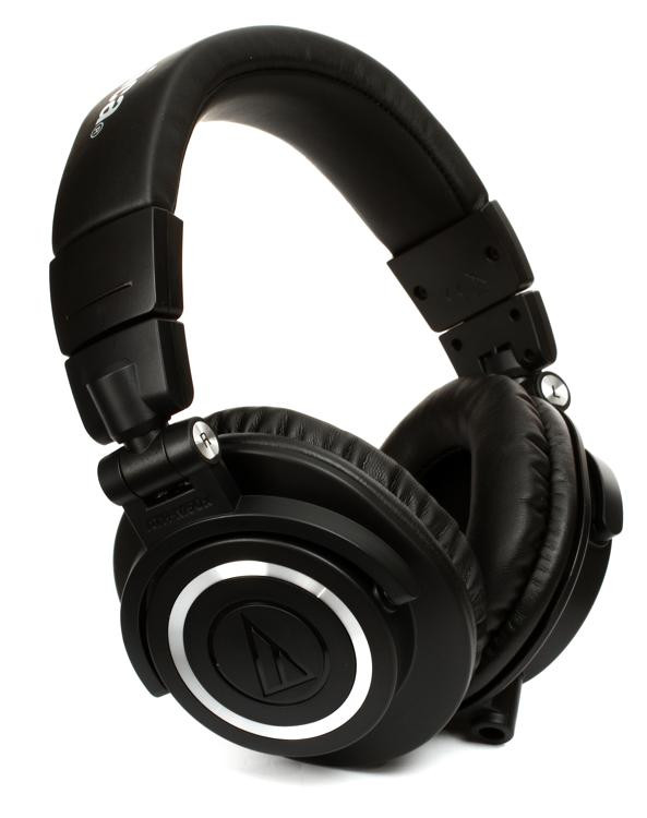 audio technica ath m50x closed back studio monitoring. Black Bedroom Furniture Sets. Home Design Ideas