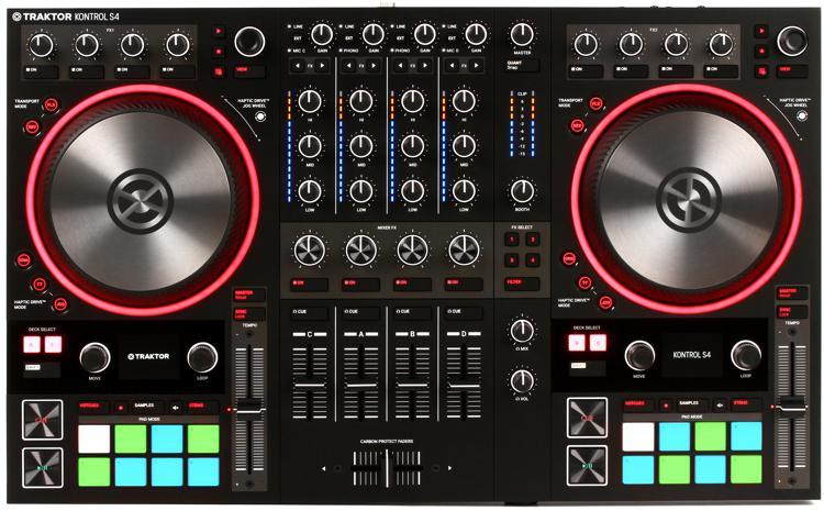 Traktor Kontrol S4 MK3 4-channel DJ Controller