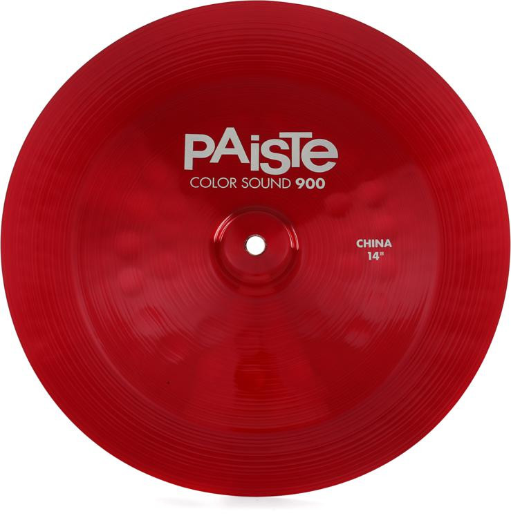 paiste color sound 900 china cymbal 14 red sweetwater. Black Bedroom Furniture Sets. Home Design Ideas