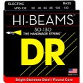 DR Strings MR6-130 Hi-Beam Stainless Steel Medium 6-String Bass Strings