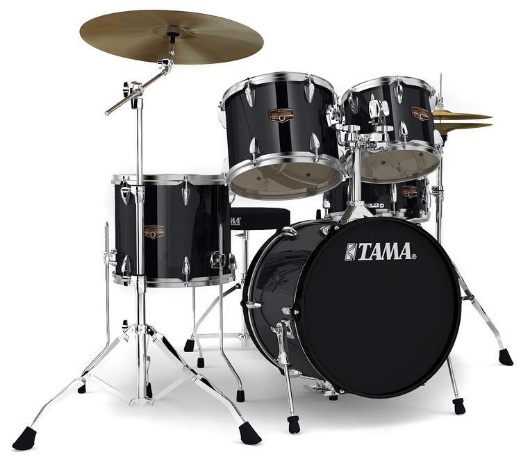 Tama 18 Floor Tom: Tama Imperialstar Complete Drum Set