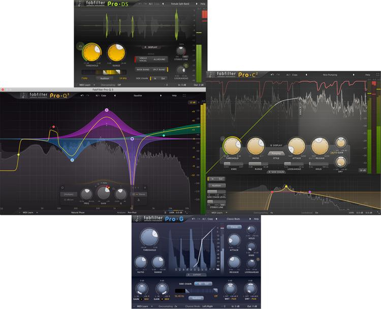 FabFilter Mixing Plug-in Bundle image 1