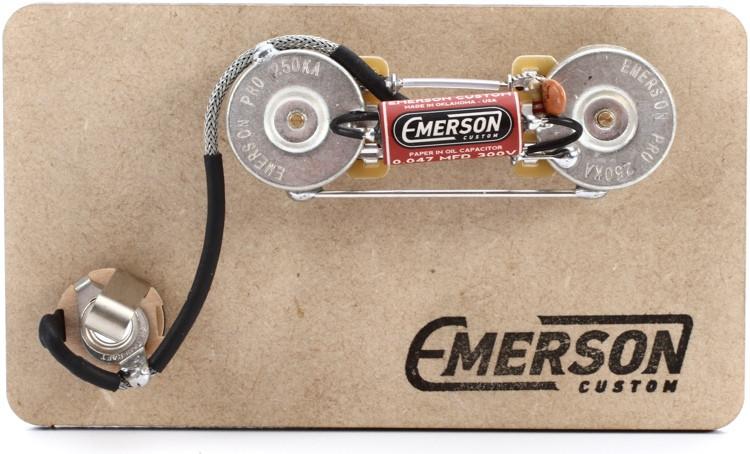 Emerson Custom Prewired Kit for Precision Bass image 1