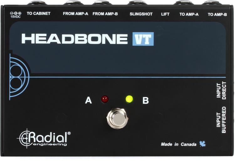 Radial Headbone VT - Tube Amp Head Switcher image 1