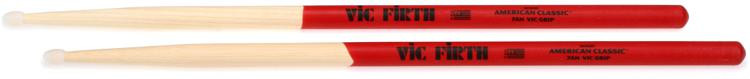 Vic Firth American Classic Drumsticks With Vic Grip - 7A - Nylon Tip image 1