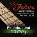 Fodera 4095 Nickel Roundwound Bass Strings - 0.040-0.095 Ultra Light