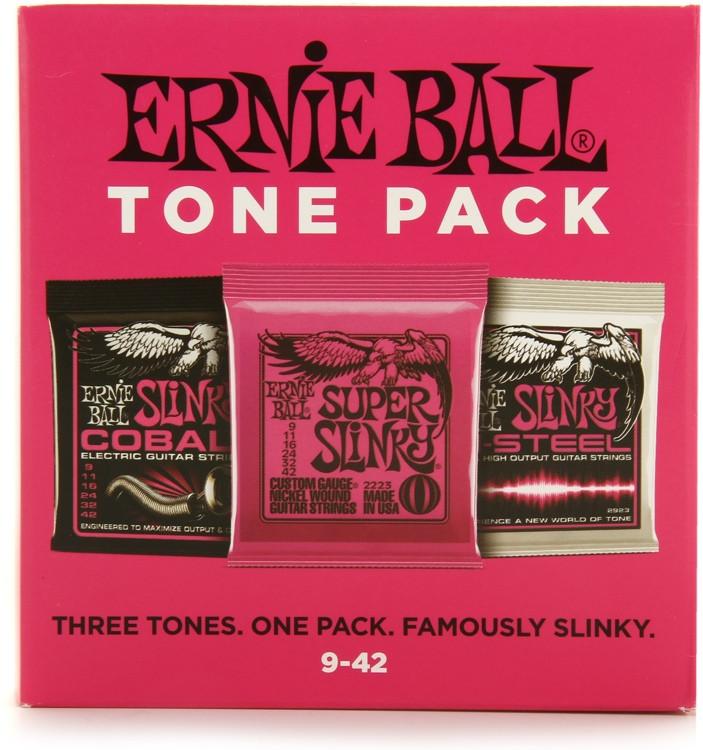 Ernie Ball Super Slinky Electric Guitar Tone Pack image 1