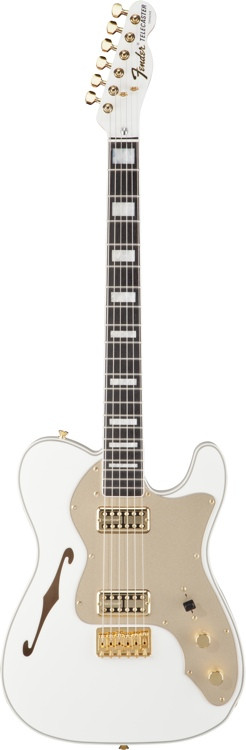 fender telecaster thinline super deluxe olympic white sweetwater. Black Bedroom Furniture Sets. Home Design Ideas