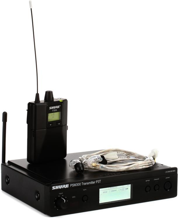Shure P3TRA215CL Wireless In-ear Monitor System - J13 Band image 1