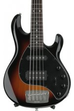 Ernie Ball Music Man StingRay5 HS Neck-Through - Vintage Sunburst