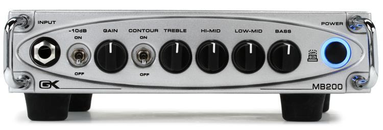 Gallien-Krueger MB200 200-Watt Ultra Light Micro Bass Head image 1