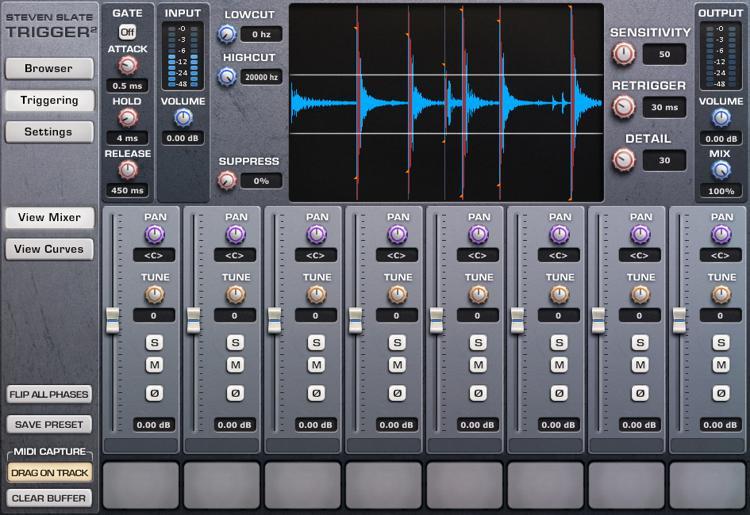Steven Slate Drums Trigger 2 Platinum Drum Replacement Plug-in (download) image 1