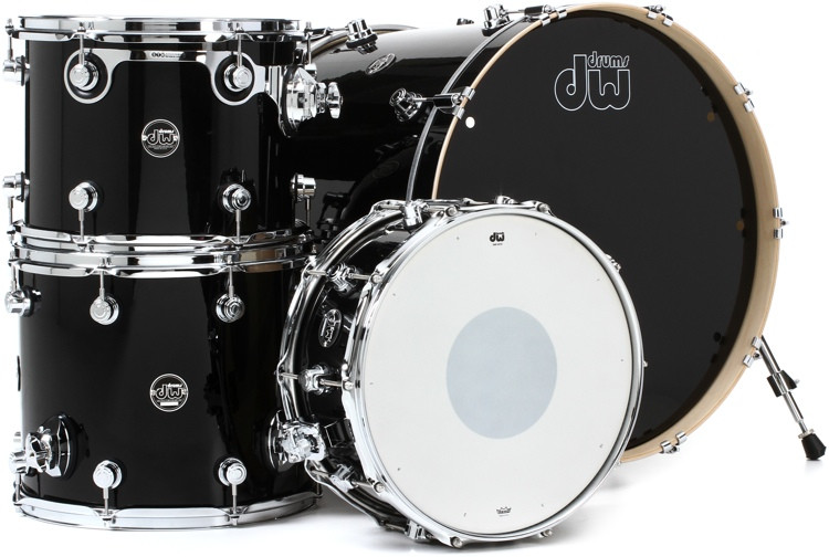 DW Performance Series 4-piece Rock Shell Pack with Snare - 24