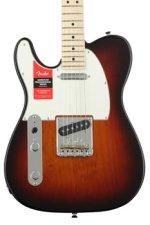 Fender American Professional Telecaster Left-handed - 3-color Sunburst with Maple Fingerboard