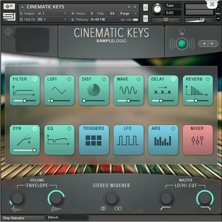 Sample Logic Cinematic Keys image 1