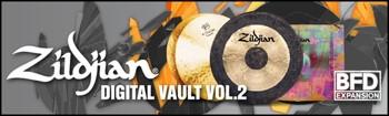 FXpansion BFD Zildjian Digital Vault Vol. 2 Expansion Pack image 1