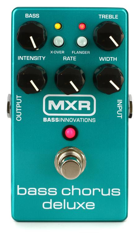 mxr m83 bass chorus deluxe pedal sweetwater. Black Bedroom Furniture Sets. Home Design Ideas