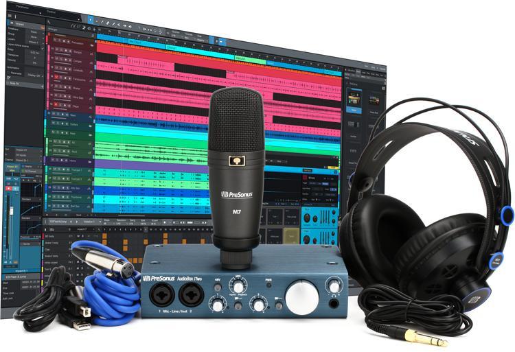 PreSonus AudioBox iTwo Studio - 2x2 USB/iPad Recording System image 1