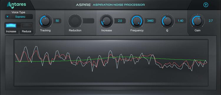 Antares ASPIRE Evo Vocal Effects Plug-in image 1