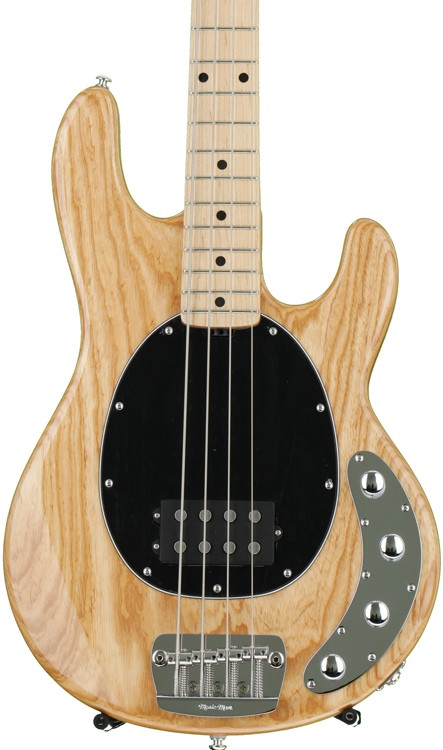 ernie ball music man stingray 4 h natural maple fingerboard sweetwater. Black Bedroom Furniture Sets. Home Design Ideas