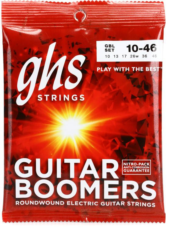 GHS GBL Guitar Boomers Roundwound Light Electric Guitar Strings image 1
