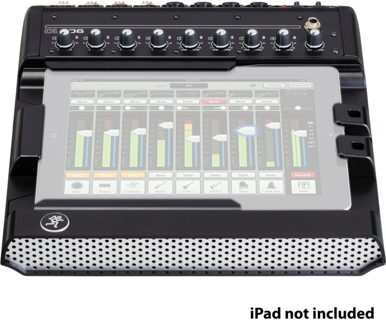 mackie dl806 ipad controlled digital mixer sweetwater. Black Bedroom Furniture Sets. Home Design Ideas