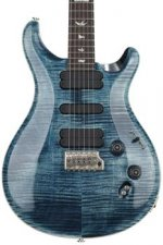 PRS 509 Figured Top - Faded Whale Blue with Pattern Regular Neck
