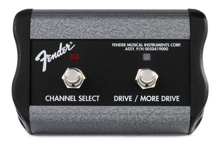 Fender Channel Select/Drive/More Drive Footswitch image 1