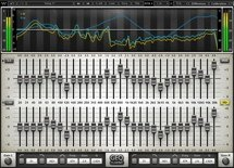 Waves GEQ Graphic Equalizer Plug-in