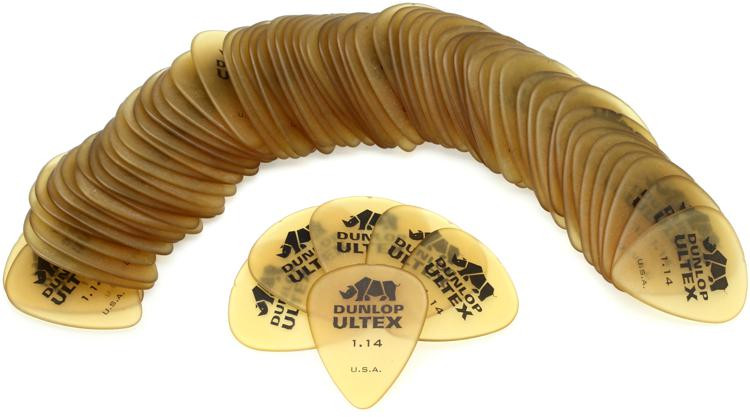 Dunlop 421R1.14 Ultex Standard 1.14mm Guitar Picks 72-Pack image 1