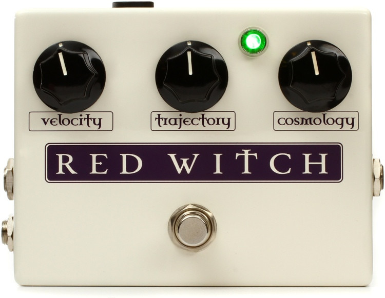 Red Witch Deluxe Moon Phaser Pedal image 1
