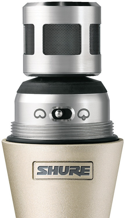 Shure UR2/KSM9 - H4 Band, 518 - 578 MHz, Silver image 1