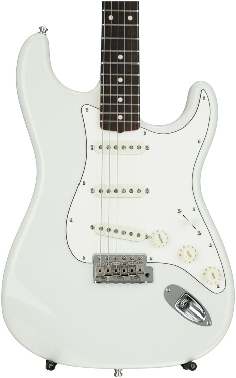 Fender Custom Shop Postmodern Stratocaster NOS - Olympic White with Rosewood Fingerboard image 1