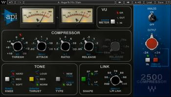 Waves API 2500 Plug-in image 1