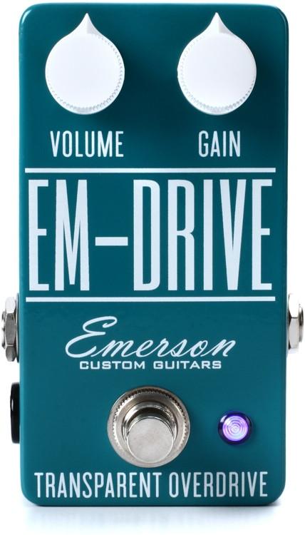 Emerson Custom EM-Drive Transparent Overdrive Pedal image 1