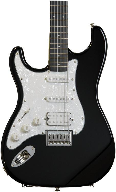 fretlight fg 521 guitar learning system black left handed sweetwater. Black Bedroom Furniture Sets. Home Design Ideas