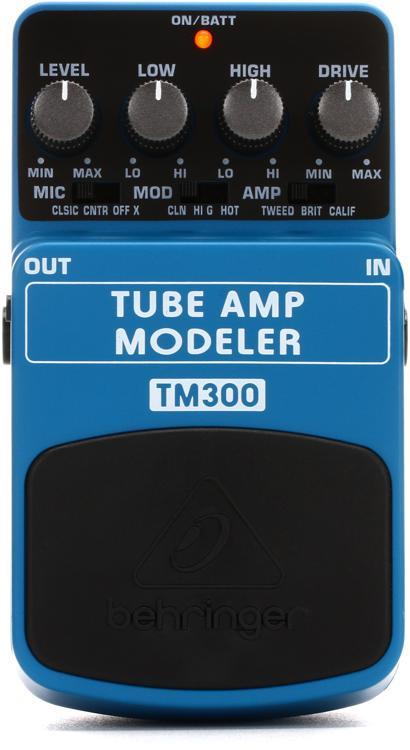 Behringer TM300 Tube Amp Modeler Pedal image 1