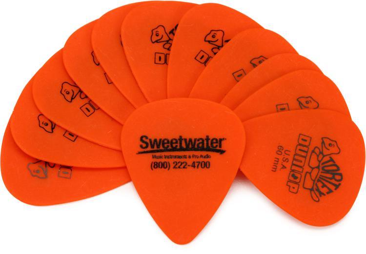 Dunlop Sweetwater Picks - 0.60 Tortex 12-pack image 1