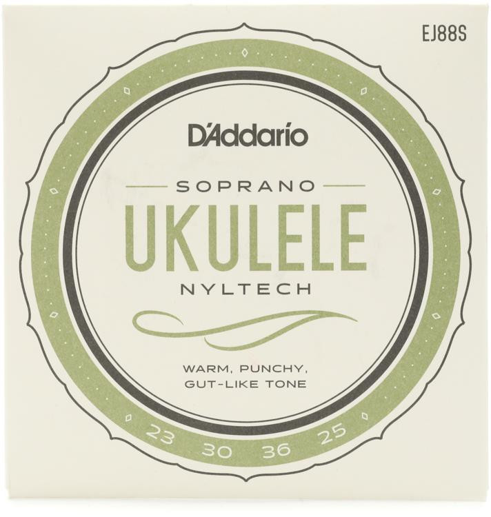 D\'Addario Nyltech Natural Nylon Ukulele Strings - Soprano image 1