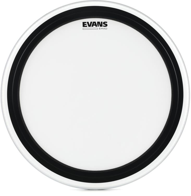 Evans EMAD Coated Bass Drum Batter Head - 22