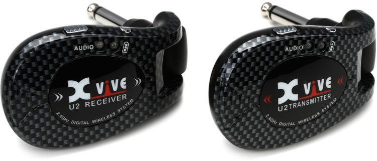 xvive audio u2 digital wireless guitar system carbon sweetwater. Black Bedroom Furniture Sets. Home Design Ideas