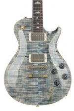 PRS McCarty Singlecut 594 10-Top - Faded Whale Blue with Pattern Vintage Neck