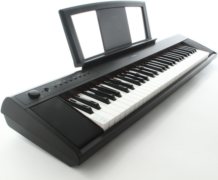 yamaha piaggero np11 61 key piano with speakers sweetwater. Black Bedroom Furniture Sets. Home Design Ideas