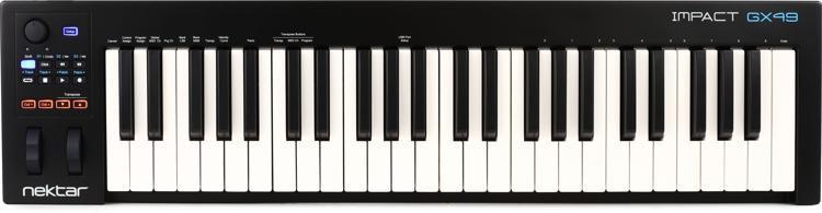Nektar Impact GX49 Keyboard Controller image 1