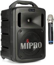 MIPRO MA-708 - Portable PA with CD Player, Wireless Mic and Bluetooth