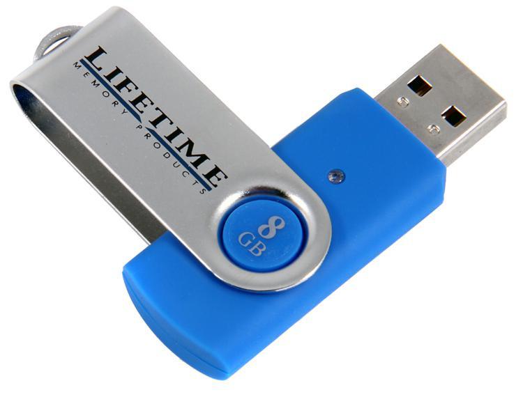Top Tier QuickStick USB Flash Drive - 8 GB, USB 2.0 image 1